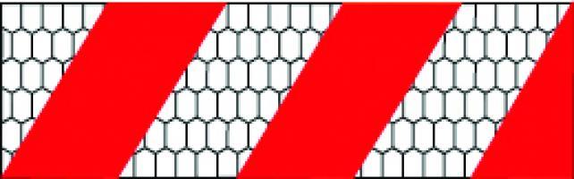 SACHET DE 10 BANDES ALTERNEES (SD+SG)  CLASSE 2  0.560m x 0.141m