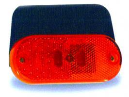 FEU DE POSITION LATERAL ORANGE A LED +CATADIOPTRE 24V  J SANS SEMELLE