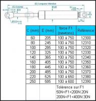 COMPAS DIAMETRE 8 COURSE 100 FORCE  100 N