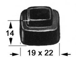 BUTEE CAOUTCHOUC POUR 13601