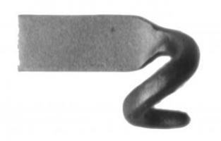CROCHET DE HAYON 30 X 8 DROIT  2904466DR