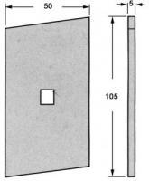 PLAQUETTE DE FIXATION ZB 3110177 POUR PROFIL 13970
