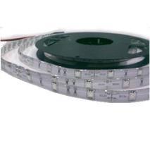 BANDE LED 12V SMD 5050 IP65 BLANC PUR 6000K 30 LEDS/M EN RL DE 5M