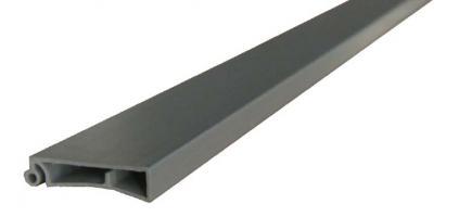LAME TERMINALE 8x30MM PVC ARGENT EN LG DE 2M50