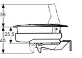 SERRURE BEETLE MP-03-110-000 ACIER INOXYDABLE AVEC SERRURE