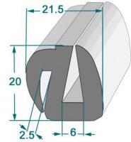 PROFIL COMPACT POUR GLACE RL 3O M