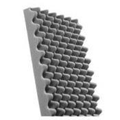 MOUSSE PU ALVEOLEE EP.20 - 2M X 1 M GRISE NON ADHESIVEE-Mousses Techniques